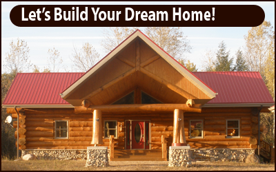 Wisconsin Log Cabin Home Builders   Arrowhead Builders